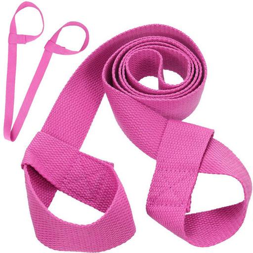 B31604 Ремень-стяжка Универсальная для йога ковриков и валиков