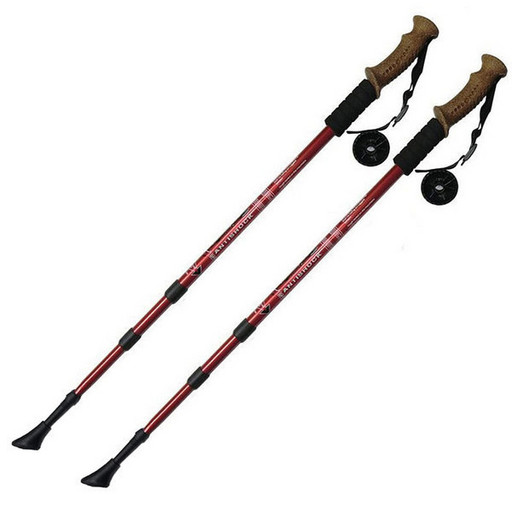 Палки для скандинавской ходьбы до 1,35м Телескопическая