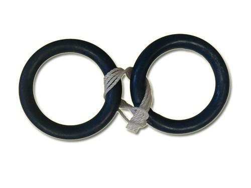 Кольца гимнастические пластиковые (2 шт).