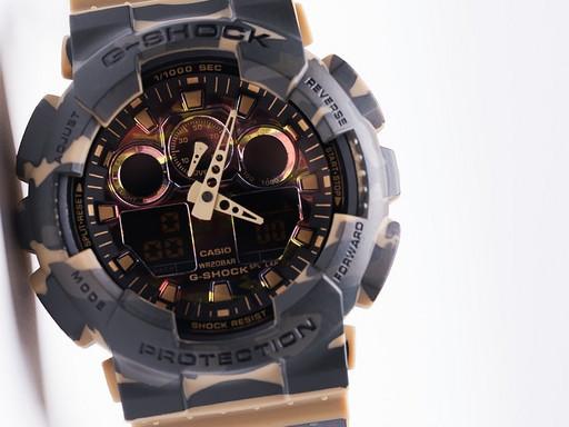 Часы Casio G-Shock GA-100 (12126)