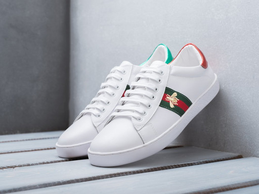 Кроссовки Gucci Ace Embroidered (11350)