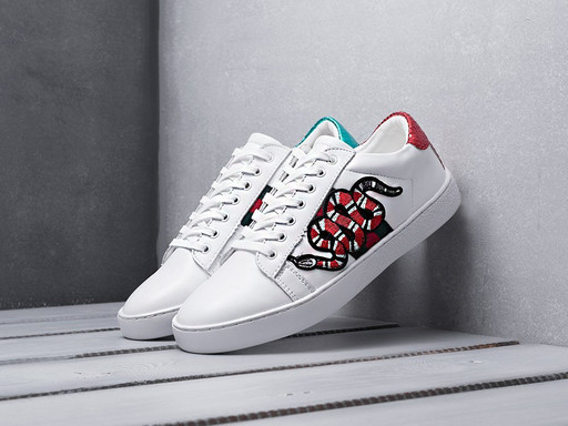 Кроссовки Gucci Ace Embroidered (10635)