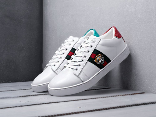 Кроссовки Gucci Ace Embroidered (10634)