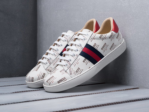 Кроссовки Gucci Ace Embroidered (11052)