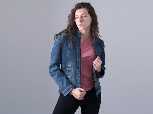 Куртка джинсовая (12451)