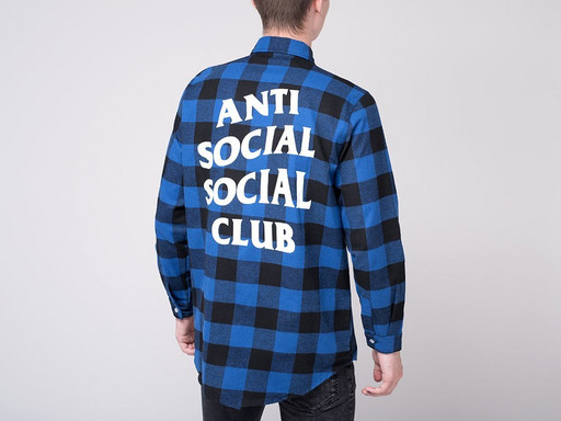 Рубашка Anti Social Social Club (14958)