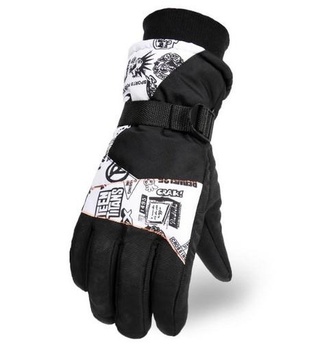 Горнолыжные перчатки Teen Titans (12265)