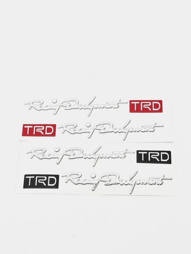 3D наклейка TRD на дверные ручки