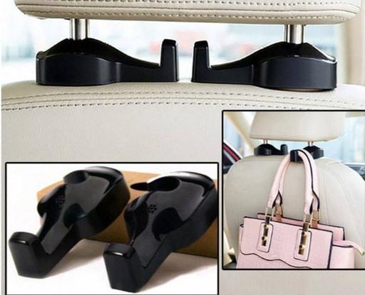 Автомобильная вешалка (крючок) для пакетов и сумок