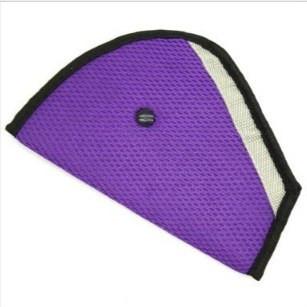 Фиолетовый адаптер ремня безопасности для детей