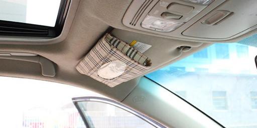 Коробка для салфеток на солнцезащитный козырек