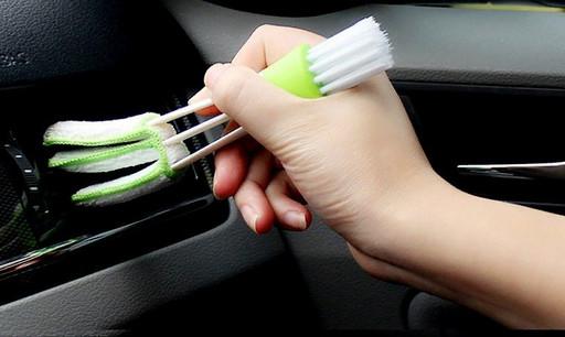 Кисть щетка универсальная для труднодоступных мест в автомобиле и квартире