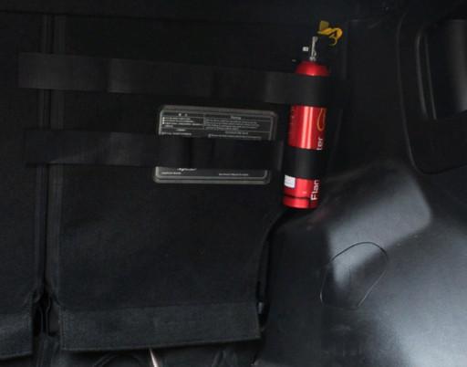 Фиксирующая  лента липучка  в багажник органайзер