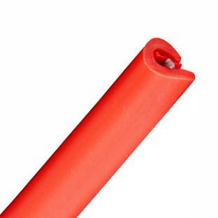 U-образная резиновая лента красная