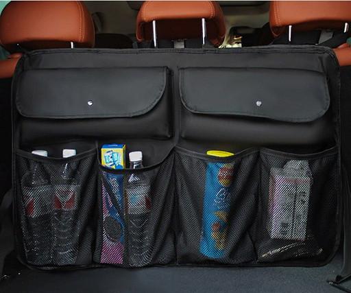 Органайзер на заднее сиденье в багажник (цвет черный)