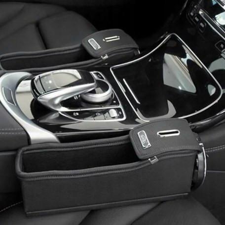 Органайзер карман между сиденьем автомобиля (цвет черный)