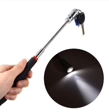 Магнитный телескопический захват с фонариком