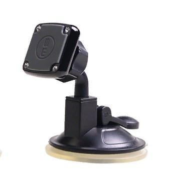 Держатель магнитный для телефона на присоске (цвет серый)