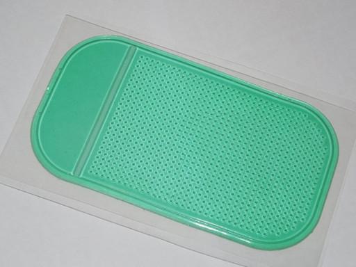 Коврик липучка зеленый