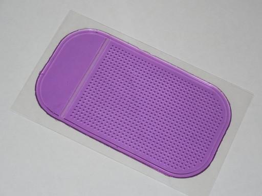 Коврик липучка фиолетовый