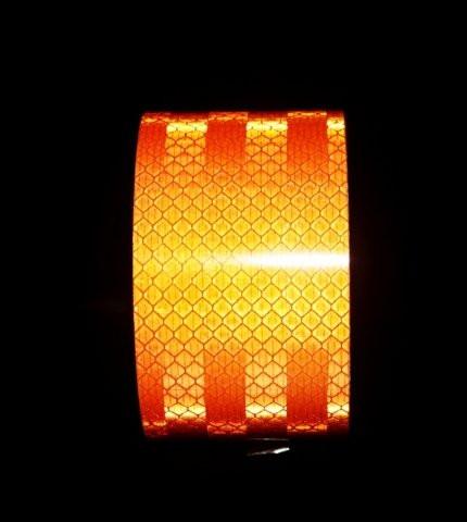 Светоотражающая лента оранжевая