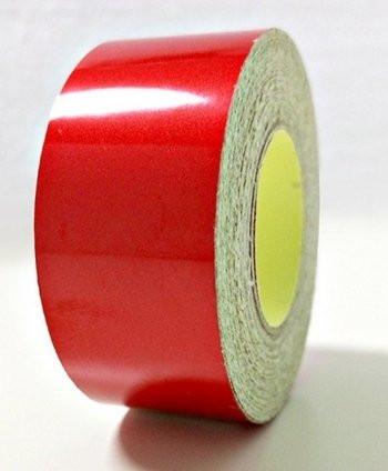 Красная светоотражающая лента (2 см)