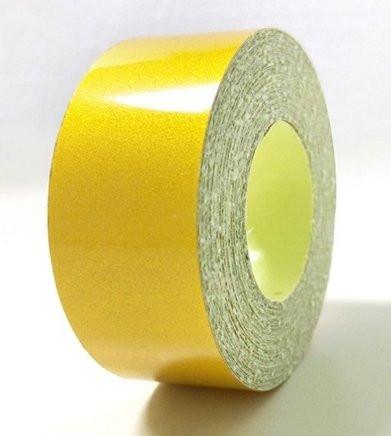 Желтая светоотражающая лента (2 см)