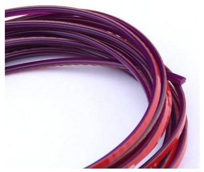 Фиолетовая декоративная лента