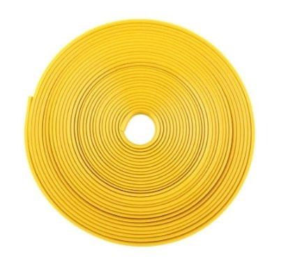 Желтая резиновая клейкая лента для обода колеса