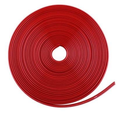 Красная резиновая клейкая лента для обода колеса