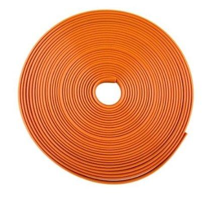 Оранжевая резиновая клейкая лента для обода колеса