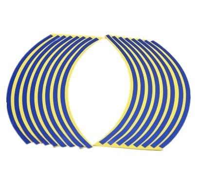 Синие наклейки для дисков