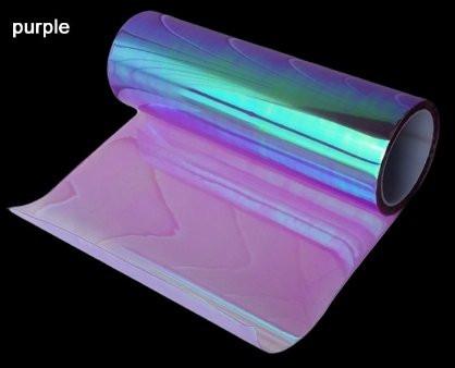 Фиолетовая пленка хамелеон для фар 300х1200 мм