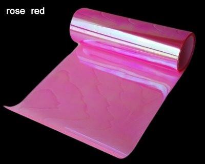 Розовая пленка хамелеон для фар 300х1200 мм