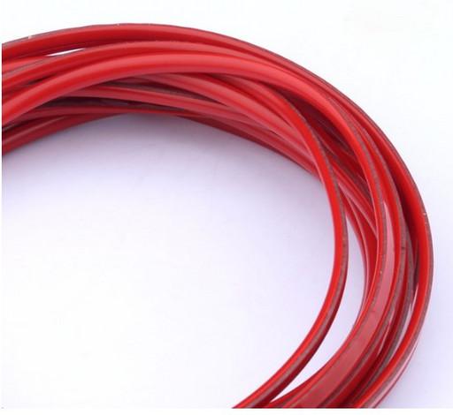 Красная декоративная лента