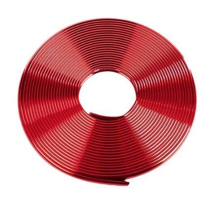 Красная окантовочная (универсальная) клейкая лента