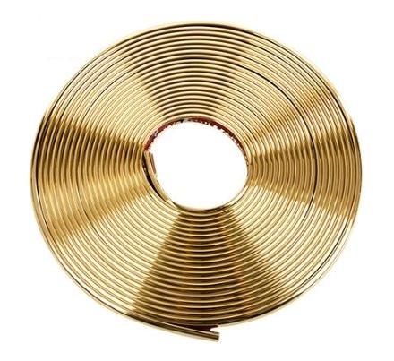 Золотая окантовочная (универсальная) клейкая лента
