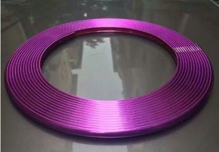 Фиолетовая окантовочная (универсальная) клейкая лента