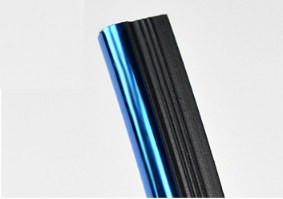 Лента синяя для стыков в панели хромированная