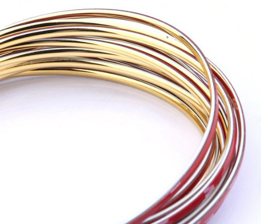 Золотая декоративная лента