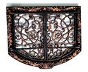 Чугунные - рамки для камина