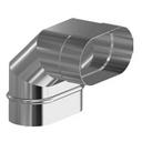 Дымоход Aisi 316 (0,5 мм) Craft Profi Овального сечения