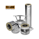 Дымоход Aisi 430 0,8 мм Ferrum