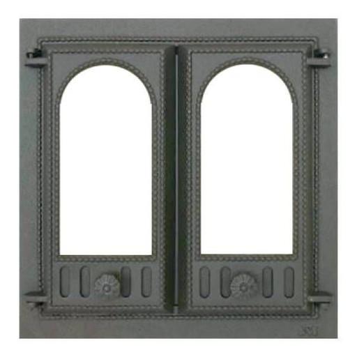 Дверца топочная SVT 401 со стеклом