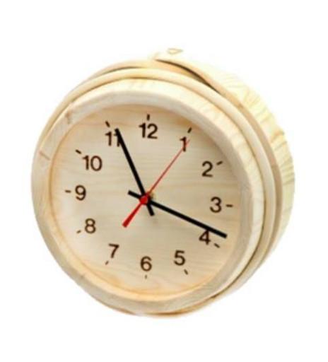 Часы вне сауны Финские