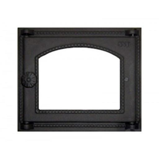 Дверца топочная SVT 451 со стеклом