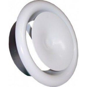 Клапан вентиляционный анемостат белый