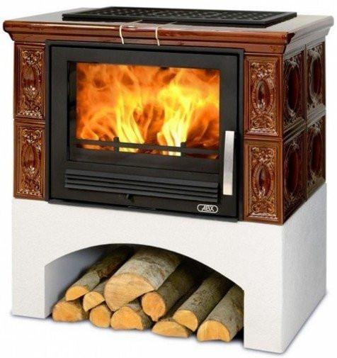 Panonie печь камин ABX Чехия коричневый