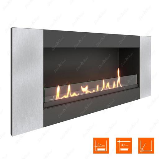 Биокамин SteelHeat LONG-V 900 XL (Стекло)
