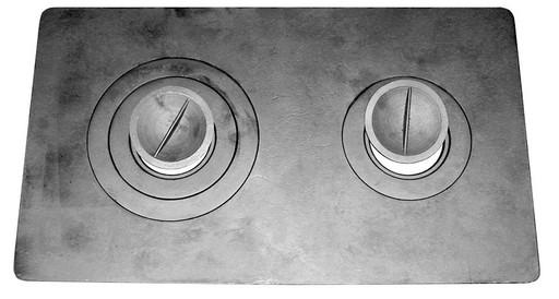 Плита двухконфорная П2-3 (Б) чугунная